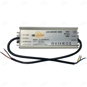 Драйвер для светодиодов LL-LGA100P-700 (85-142V 700mA PFC) IP67