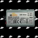 Источник питания LL-LV5-12 (12V, 5W, 0.4A) IP67