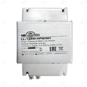 Электромагнитный дроссель 125Вт ДРЛ/МГ